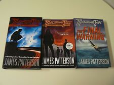 James Patterson Maximum Ride Set of 3 Books HC and PB Saving World Final Warning