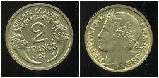 2  francs   MORLON  1937  ( SUP )  ( bis )