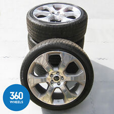 "NEW GENUINE RANGE ROVER SPORT 22"" STYLE 601 L405 ALLOY WHEELS TYRES LR051513"