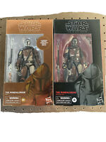Star Wars The Mandalorian Figure Carbonized Graphite & The Black Series Mando
