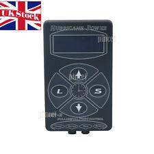 Hurricane HP-2 Black Tattoo Power Supply Digital Dual LCD Machine 100V-220V UK