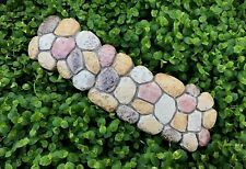 Miniature Dollhouse FAIRY GARDEN ~ Mini Brown Resin Large Stone Path Walkway