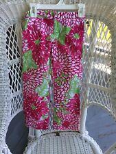 """Lilly Pulitzer Little Girls Size 5 Pink /Green"""" Fiesta"""" Pattern Jubilee"""