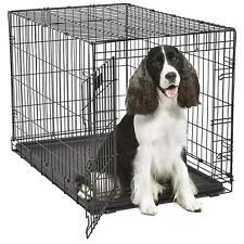 Midwest 836 Contour Dog Crate 36x25x23 Single Door w/Divider
