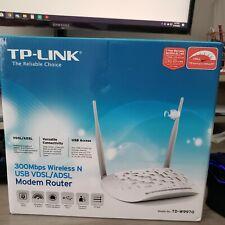 TP-LINK TD-W9970 300Mbps Wireless N USB VDSL/ADSL Modem Router