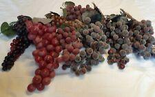 Decorative Grapes - Purple