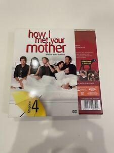 How I Met Your Mother. Alla fine arriva mamma.  Stagione 4 DVD. Come Nuovo