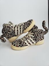 0d0c36d65046f8 Rare Adidas Originals Size 8 Jeremy Scott JS LEOPARDS V24536