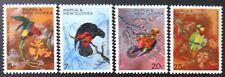 1967 Papua New Guinea Stamps - Parrots - Set of 4 MNH