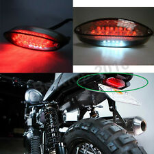 Motorcycle Bobber ATV Dirt Bike Brake Stop Running Tail Light LED Universal 12V