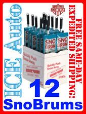 """12 PACK SNO BRUM Snow Broom Rake w/ 27"""" - 46"""" Telescoping Handle by Angel Guard"""