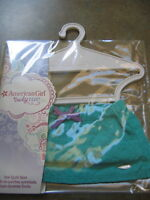 American Girl Doll CLOTHES STAR QUILT SKIRT Aqua TRULY ME NEW in PKG