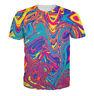 New Women/Men Colorful Tie-dye Hypnosis Funny 3D Print Casual Sweatshirt Hoodie