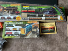 3 Hornby electric train sets Mighty Mallard, Eight Freight And Diesel Shunter