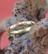 Top moderner original Niessing Brillant Ring in 585 Gelbgold