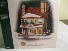 Department 56 New England Village Green Dragon Coffeehouse #56678