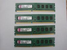 4 x Kingston KTW149 ELD 1GB 1Rx8 PC3-10600U 1333MHZ DDR3 240-Pin RAM