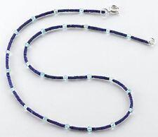 Halsketten aus Edelsteinen mit Lapis Lazuli-Hauptstein für Damen