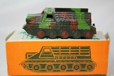 1970's Diecast Russian Military Truck on Tracks, with Original Box