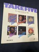 Take Five AV Laser Sampler Disc  Laserdisc Classics
