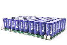 (60) Maxwell Technologies 350F 2.7V Supercapacitor Ultracapacitors 6F 160V EDLC