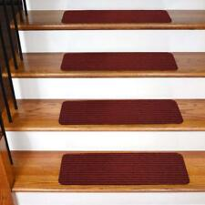 Stair Treads Non-Slip Carpet Indoor Rubber Backing (30 x 8 inch) 1 Piece