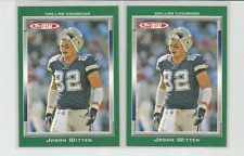 JASON WITTEN (Dallas Cowboys) 2006 TOPPS TOTAL CARDS-LOT OF TWO (2) #169