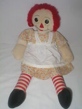 """20"""" vintage 1930's hand made Raggedy Ann - turned head"""