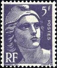 "FRANCE TIMBRE STAMP N°883 ""MARIANNE DE GANDON 5F"" NEUF X TB"