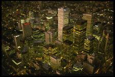 371033 Financial District NOTTE Toronto ONTARIO A4 FOTO STAMPA