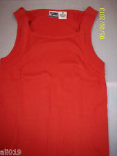 International Male Ribbed Tank Top Clay 100% Cotton Size Medium Under Gear