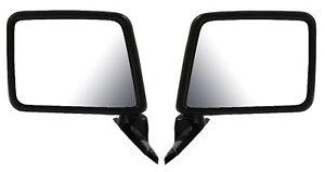 83-92 Ranger Bronco II F150 F250 F350 Left & Right Manual Mirror Pair L+R