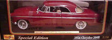 1956 Chrysler 300B Red 1:18 Maisto 31897