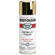 Spray Paint Best Long Lasting Protection Bright Coat Metallic Finish Gold 11 oz