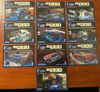 Acceleracers Cards 10 Teku Vehicles Lot! NM to M! RARE! Never Used!