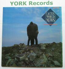 "CACTUS WORLD NEWS - Worlds Apart - Excellent Condition 7"" Single MCA 1040"