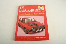 VW Golf Jetta MK2 Haynes Manual 1984-92 1.0 1.3 1.6 1.8 Petrol Workshop