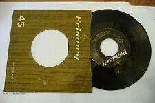 """I CAMPIONI(TONY DALLARA)""""HEY BABY-disco 45 giri PRIMARY 1963"""" PRE BEAT"""