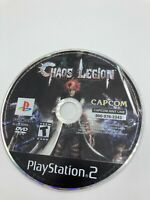 Sony PlayStation 2 PS2 Disc Only Tested Chaos Legion Ships Fast