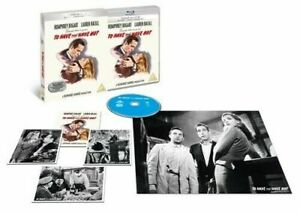 Blu Ray TO HAVE AND HAVE NOT. Humphrey Bogart. Premium collection. New.