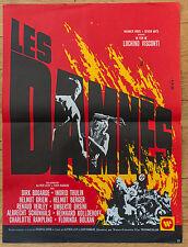 Affiche de cinéma : LES DAMNES de LUCHINO VISCONTI