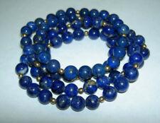 Collar de joyería naturales lapislázuli