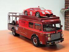 FERRARI TRANSPORTER FIAT 642 1956 1/12 BIG SCALE RESIN MODEL KIT