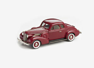 Buick Special Sport Coupe M46S (1938) in Titian Maroon (1:43 scale by Brooklin M