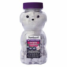 A Sambucol Black Elderberry For Kids 60 Chewable Teddy Tablets