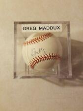 Greg Maddux Autographed 1995 World Series Baseball
