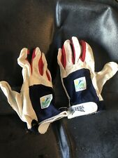 Cusad Iron Skin Vintage Water Skiing Gloves. Great Shape. Soft And Sticky
