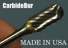 "New listing New Carbide Burr Sc-51 Single Cut 1/8"" Cylindrical Deburring Tool Bit"