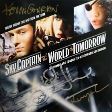 SKY CAPTAIN 2-CD Soundtrack SIGNED BY Director CONRAN, Shearmur + KEVIN CONRAN