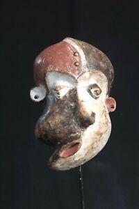 Pende Face Mask, Democratic Republic of Congo, Central African Art